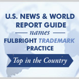 Fulbright is 2013 Law Firm of the Year in Trademark Law - U.S. News & World Report and Best Lawyers